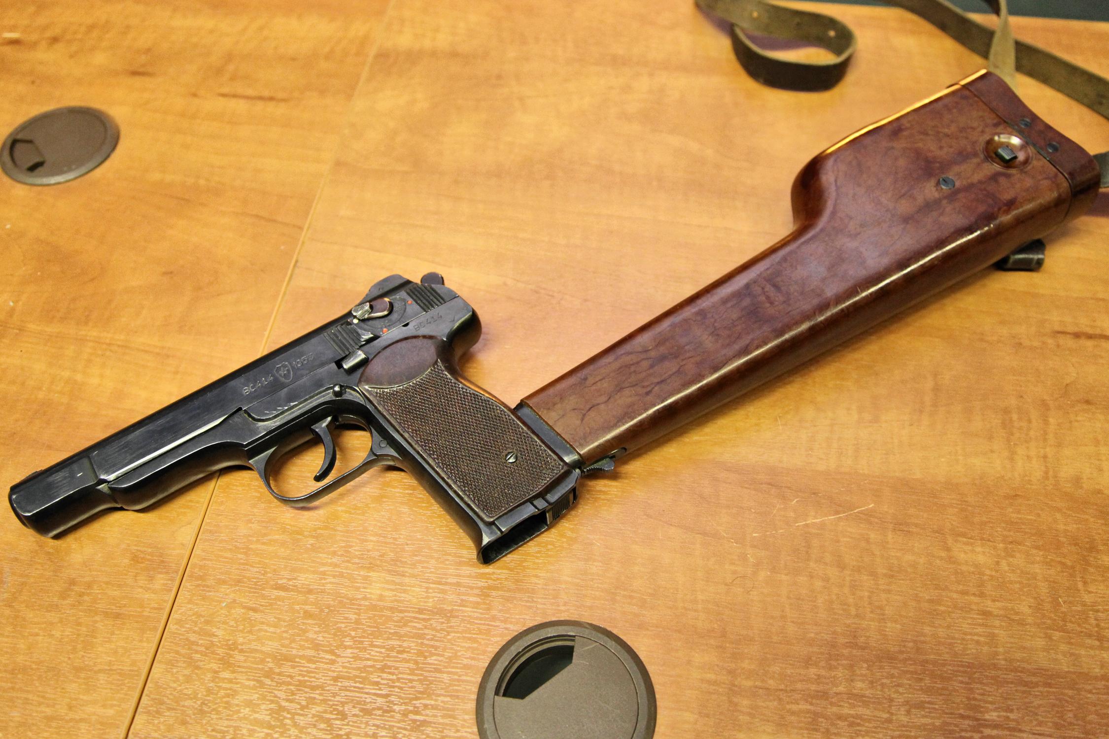 Фото пистолета автомата стечкин 3
